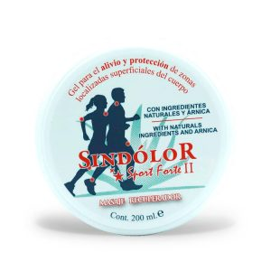 sindolor gel sport forte II tarrina 200 ml