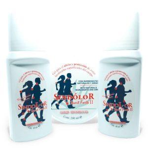Pack 2 sindolor gel roll on sport forte 60ml + gel sindolor sport forte II tarrina 200ml