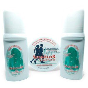 Pack 2 gel sindolor roll on 60ml + gel sindolor sport forte II tarrina 200ml
