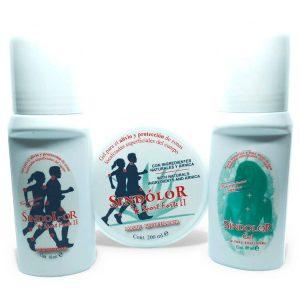 Pack sindolor gel roll on sport forte 60ml + sindolor gel roll on 60ml + sindolor gel sport forte II tarrina 200ml
